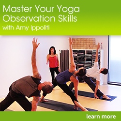 yoga observation Be better educated & more confident with our yoga anatomy resources david keil is known for simplifying anatomy so you can understand and apply it to yoga.