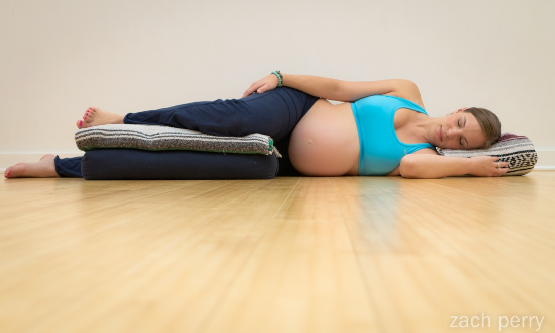 Yoga And Pregnancy Supportive Safe Savasana