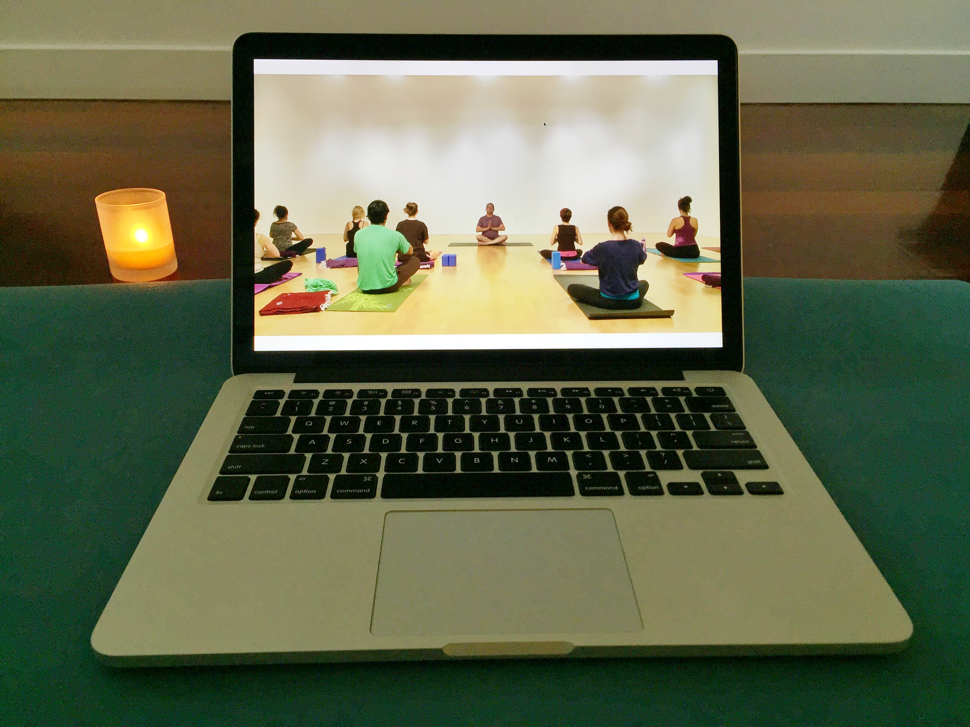 Enhance your online yoga experience